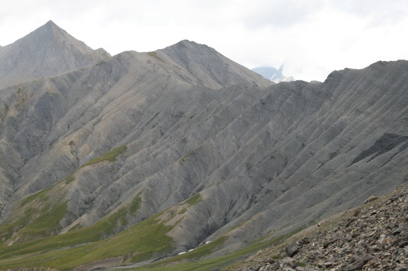 Col de Vallonpierre vu depuis le Col de Gouiran
