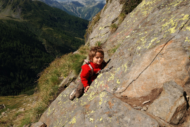 Bortelhütte, école d'escalade
