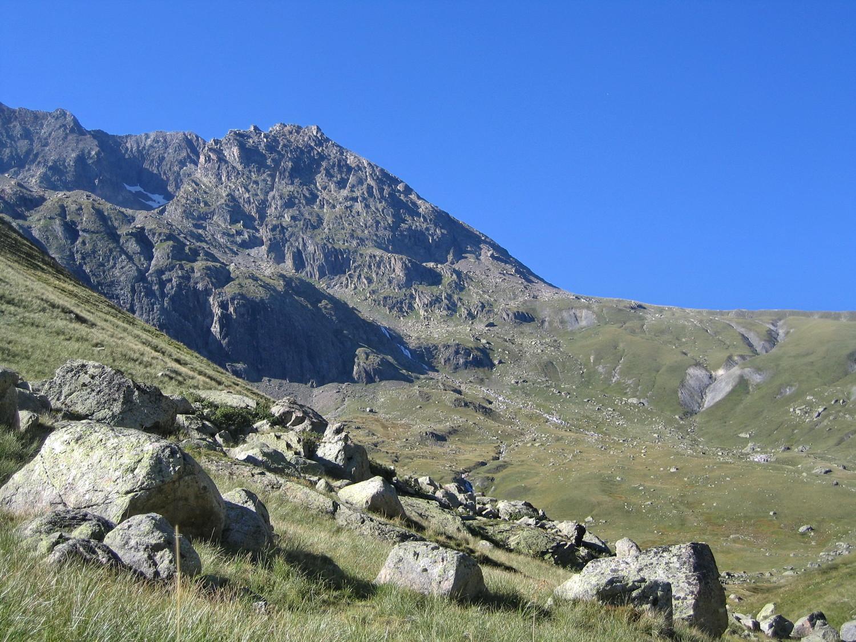 la cime SE des Sauvages, du val Ferrand