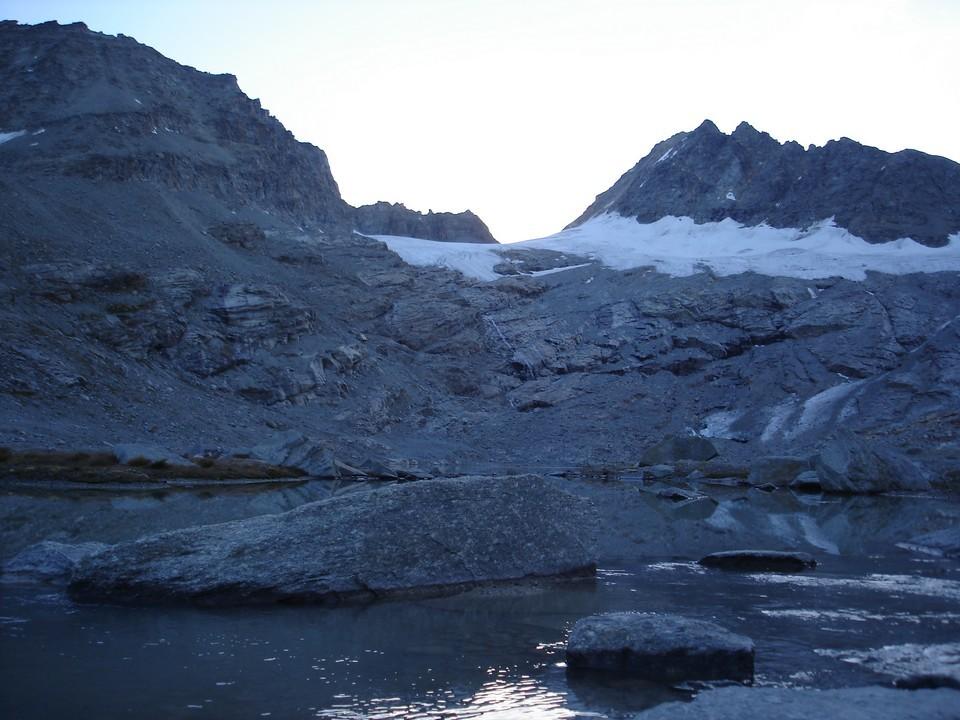 Lac des sources de l'Arc, Levanna Orientale et col Perdu