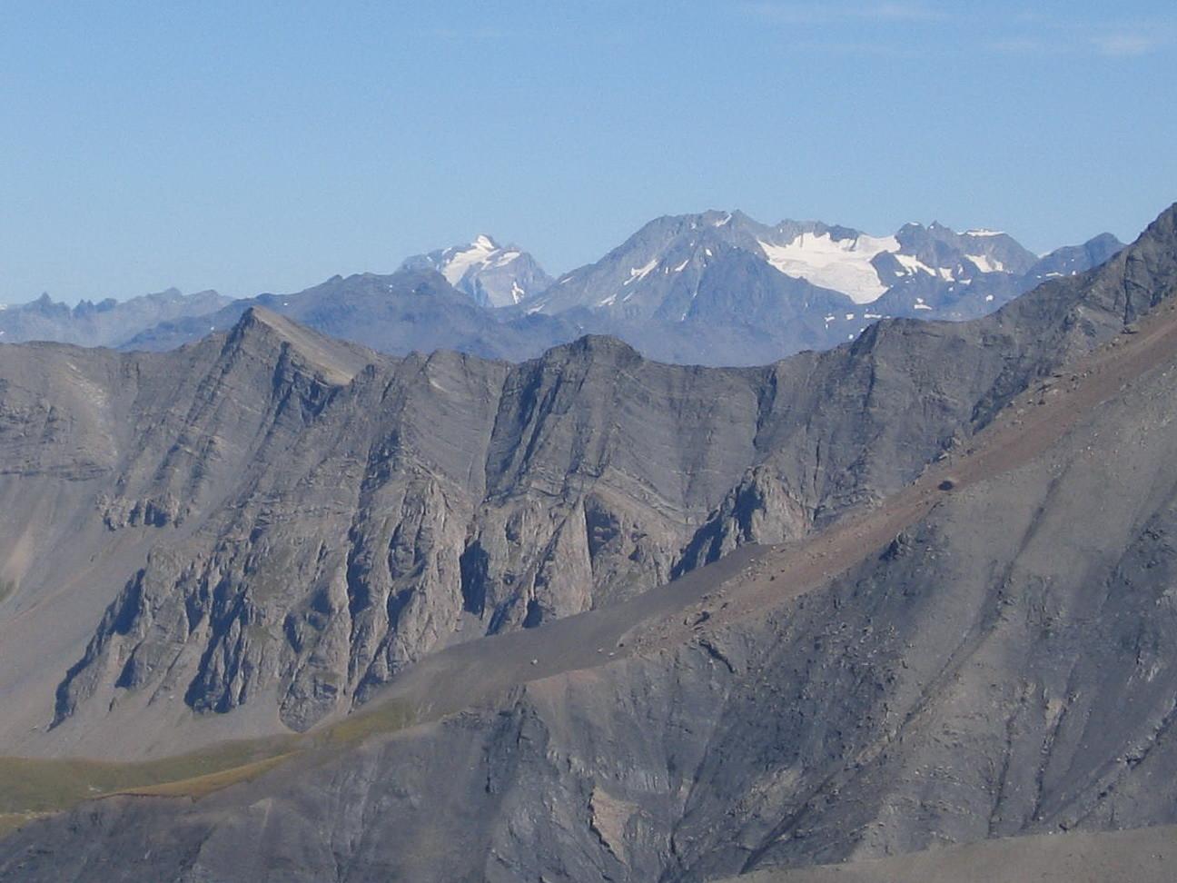 la grande Casse et Péclet Polset, du sommet