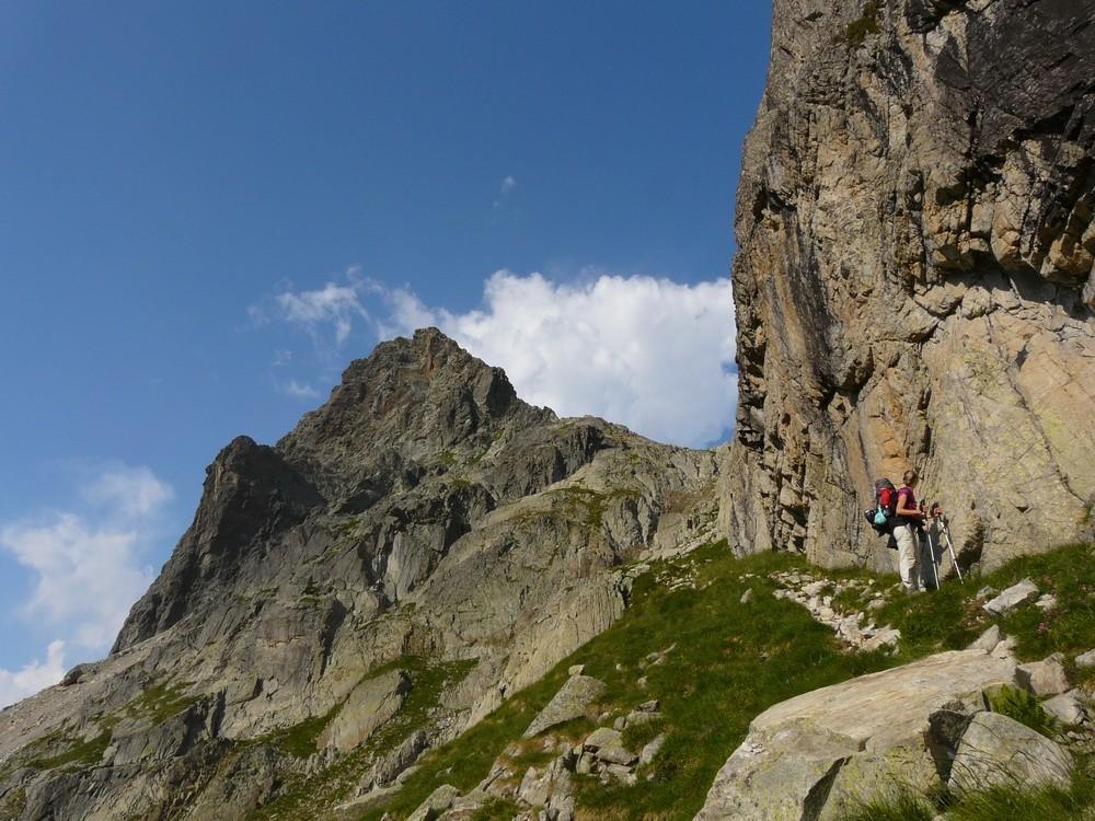 Descente du Col d'Arrémoulit