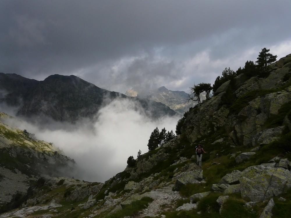 Montée au Col d'Arratille