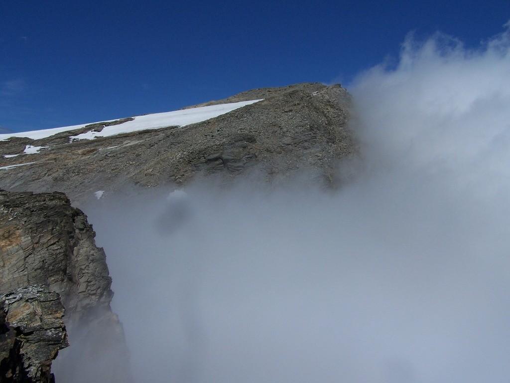 Pointe de Bonneval; au sommet de la pointe de la Piatou...