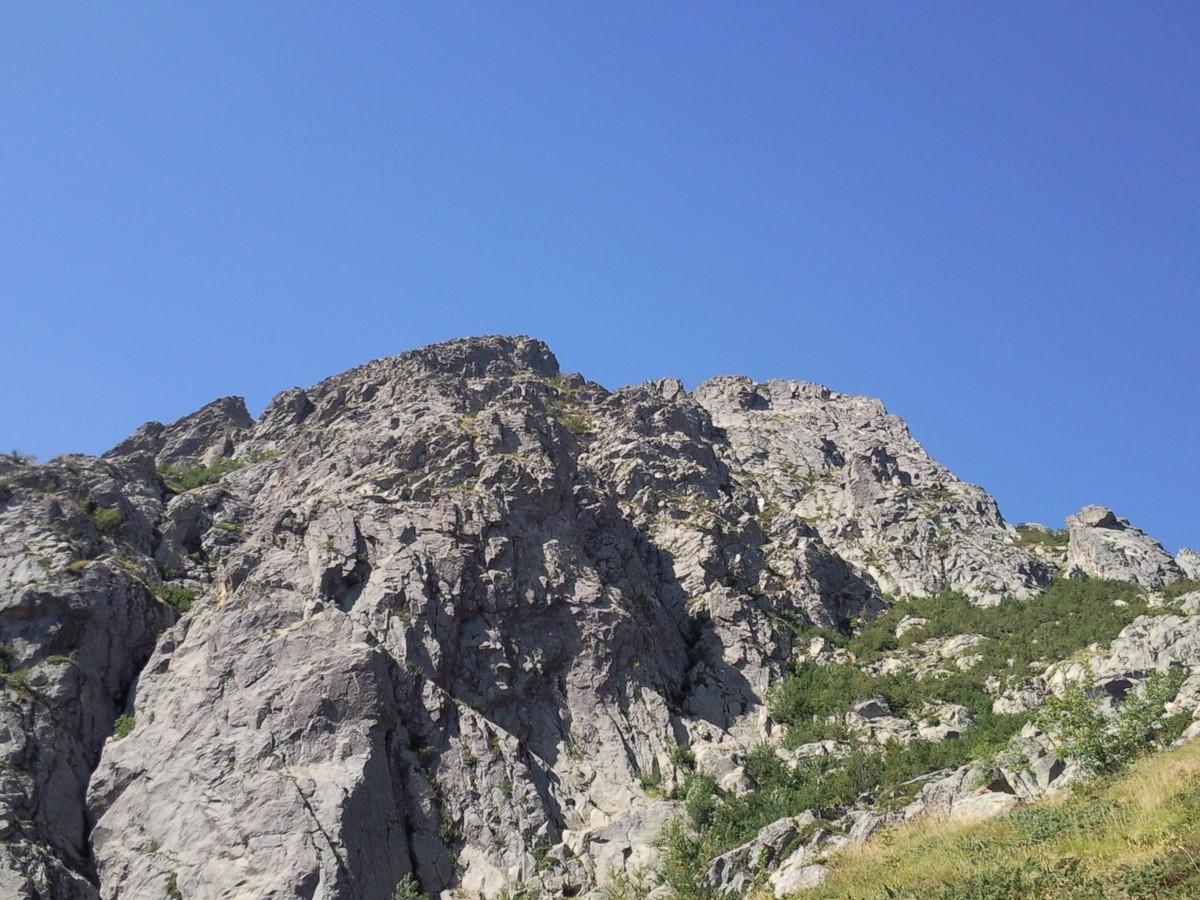 Montée vers le sommet