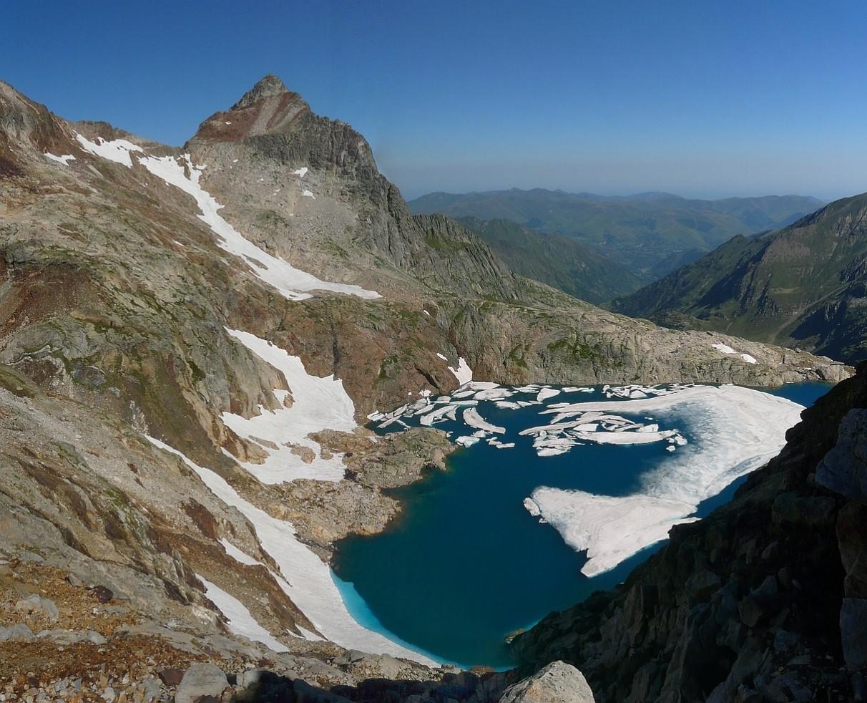 Pic des Spijeoles et Lac Glacé