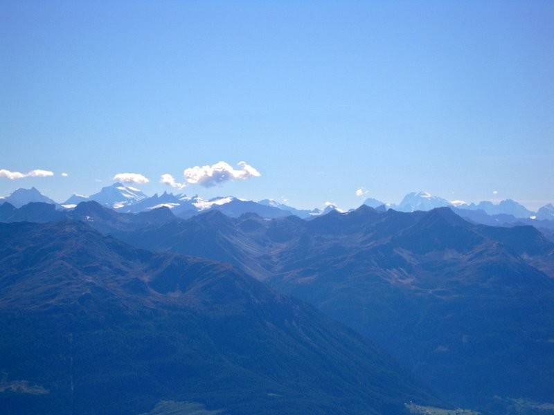 Jusqu'au Mont Blanc