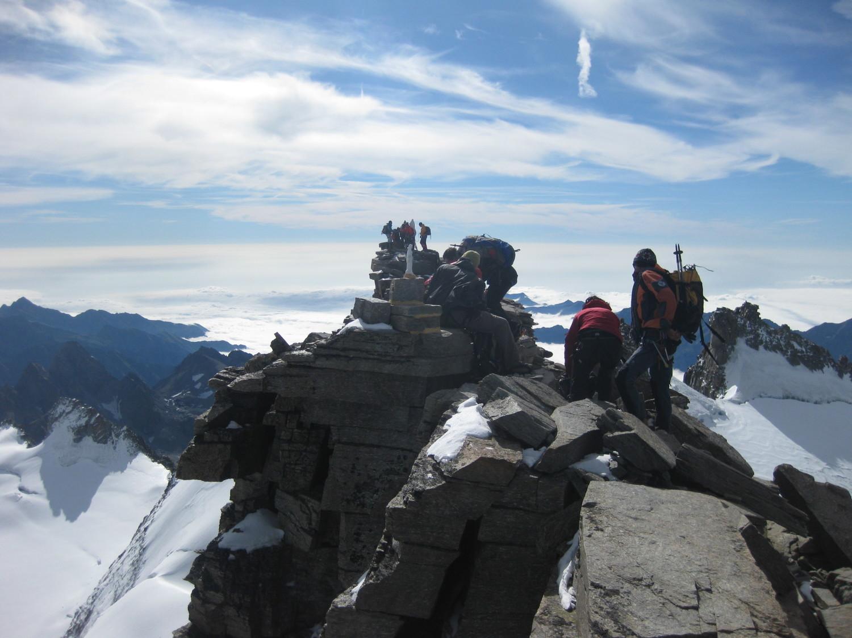 Les 2 Madones vues depuis le vrai sommet