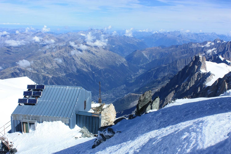 magnifique vue depuis Vallot