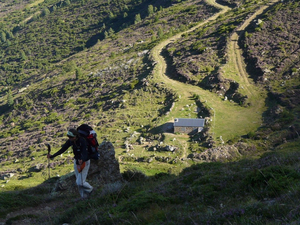 Au dessus de la cabane de Tignalbu