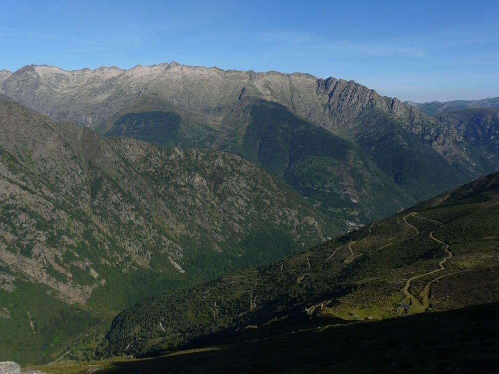 Au dessus de la vallée de Mounicou
