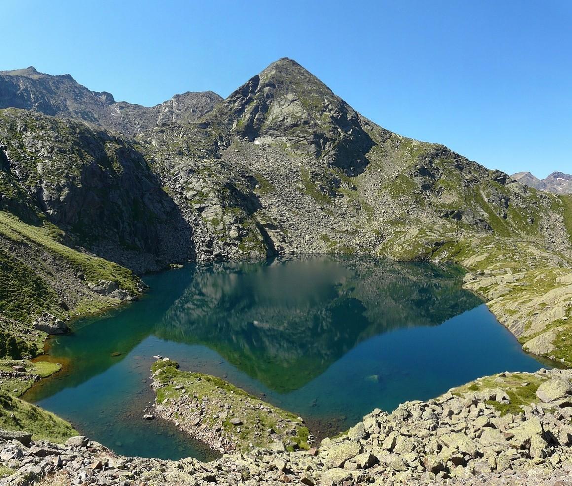 L'étang 2286m du Picot