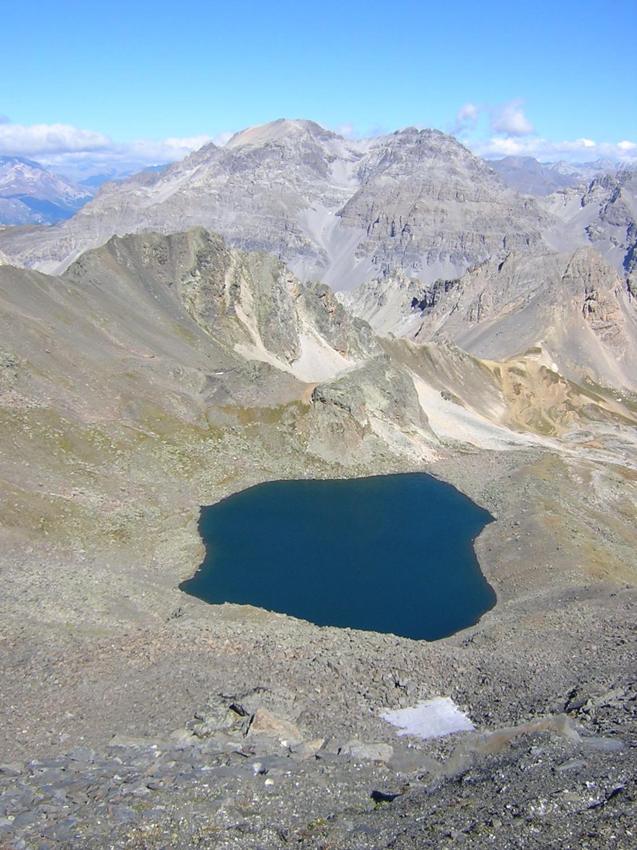 Lac Blanc vue du Pic