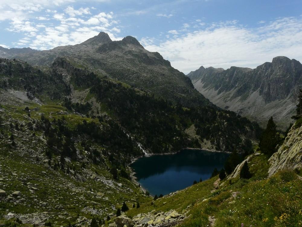 Au dessus du Lac de Restanca