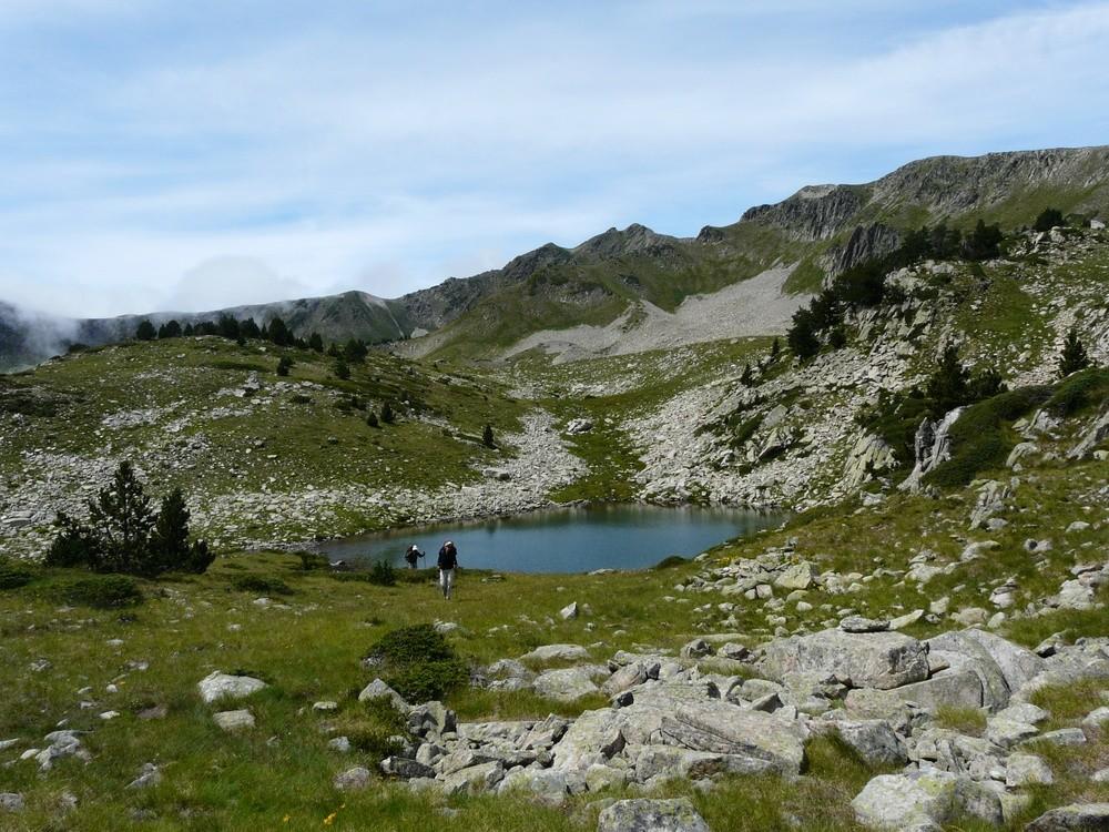 L'étang inférieur des Plans