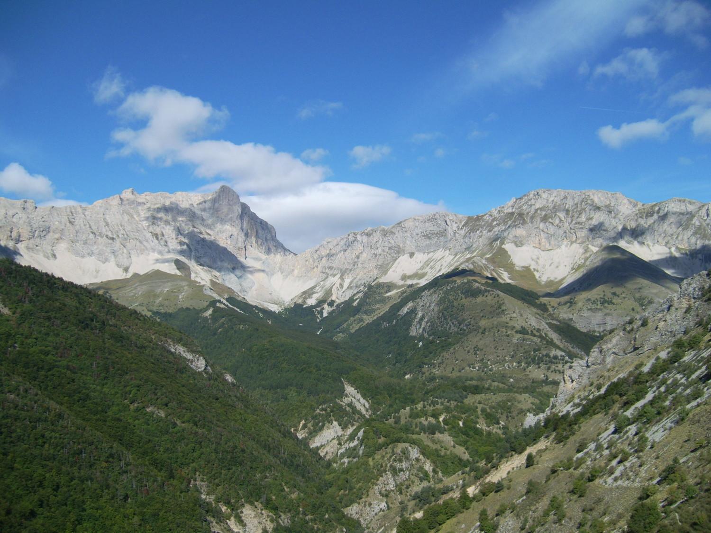 L'envers du Dévoluy et le Pic de Bure