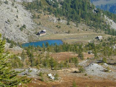 Lac Muffé vallée de Champorcher