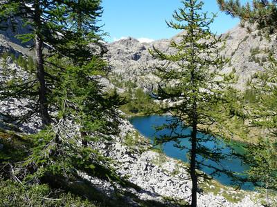 Lac Noir (parc du Mont Avic)