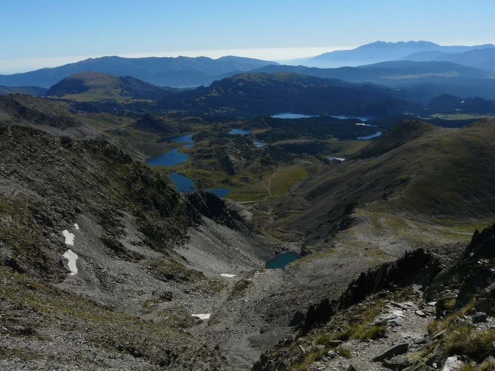 Les lacs des Bouillouses