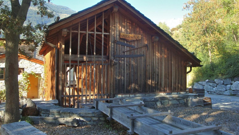Grund-Turtmann: moulin à eau