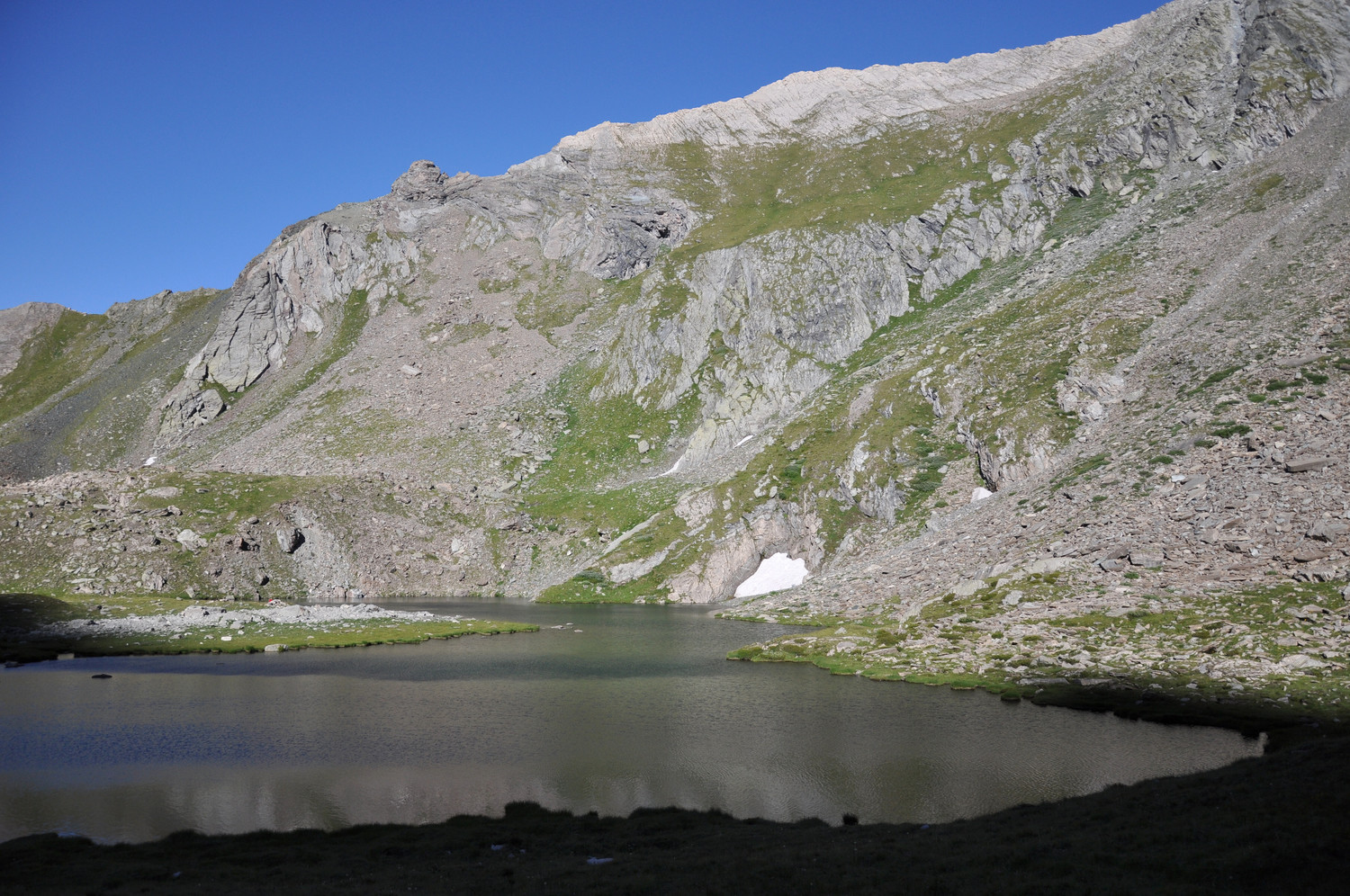 Lac Baricle. 07/2010