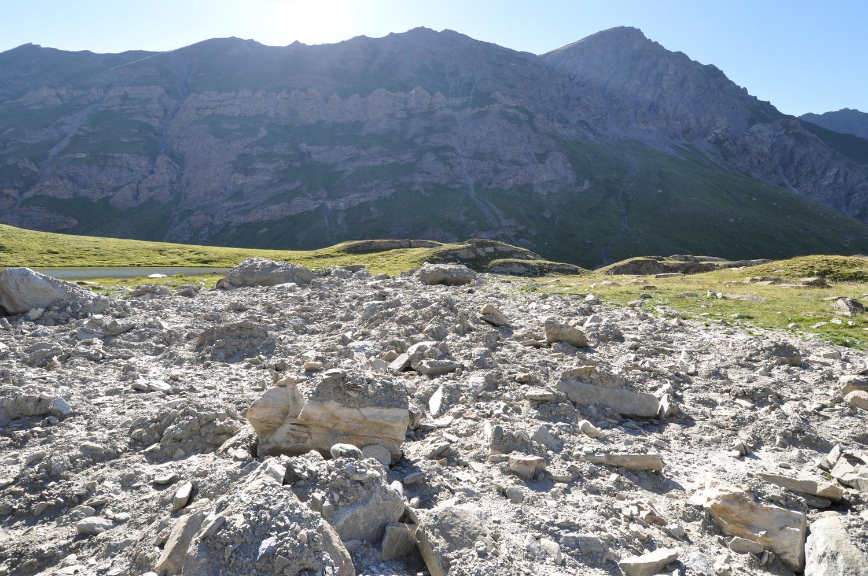 Le Sparveyre vu du Lac Baricle. 07/2010
