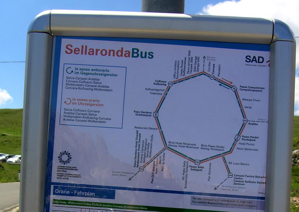 Ligne de bus Sellarondabus