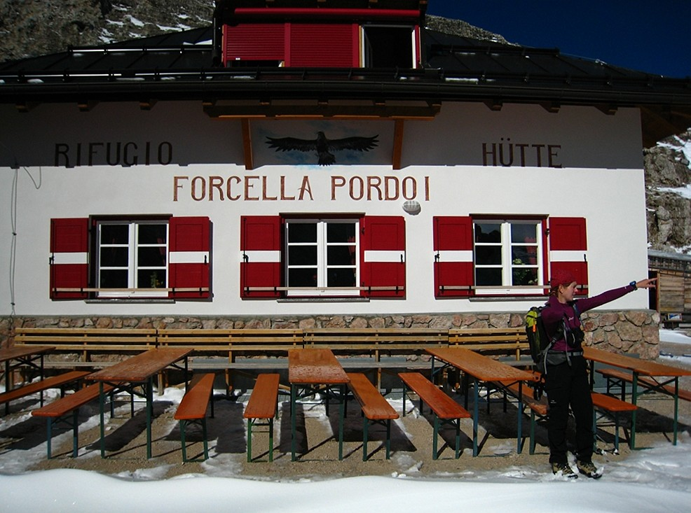 Refuge Forcella Pordoi