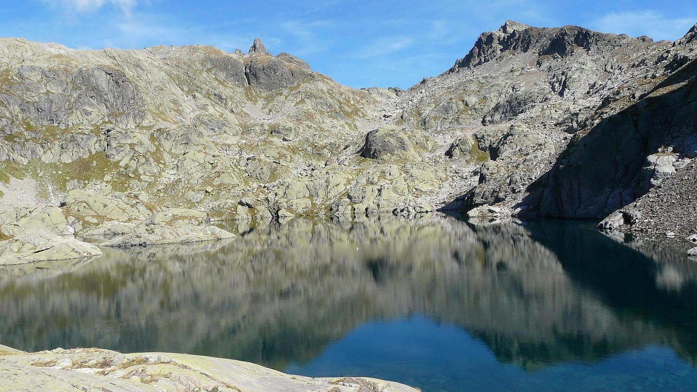 Col de la Glière et lac Cornu (Aiguilles Rouges)