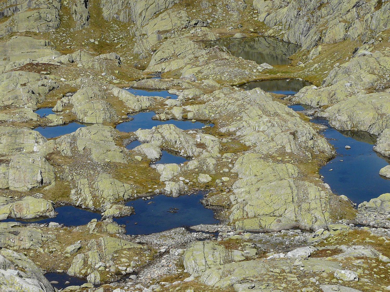Sous le lac Cornu