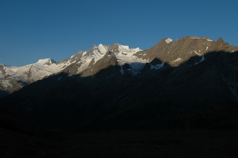 Mischabels, versant E.08/2009