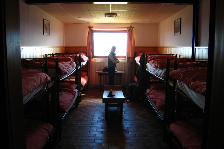 Dortoir au refuge Lagazuoi