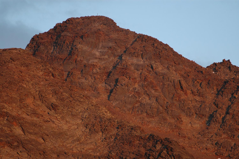 Jegihorn 3206m, face W. 08/2009