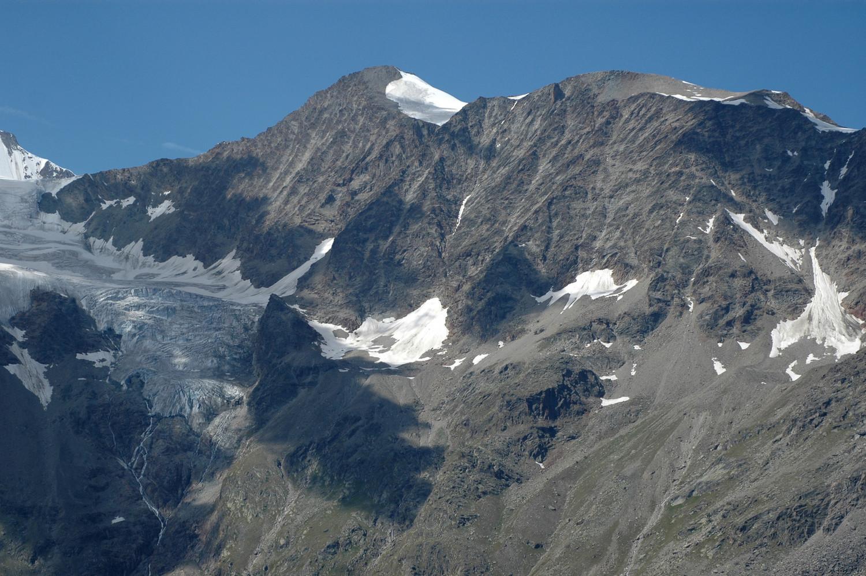 Balfrin 3796m, face E. 08/2009