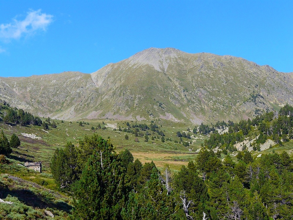 Cabane Arago et Puig Sec