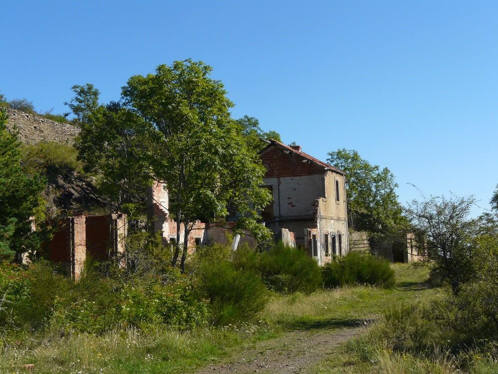 Antiga estació minera de Formentera