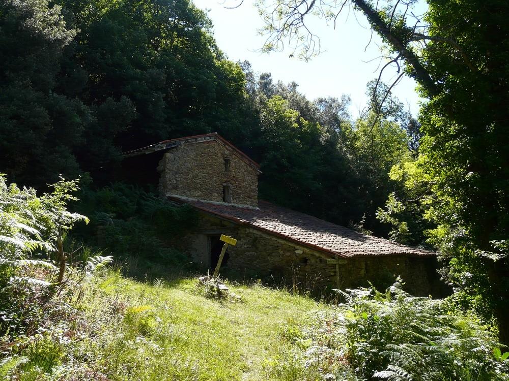 Ruïnes del cortal de la Garriga