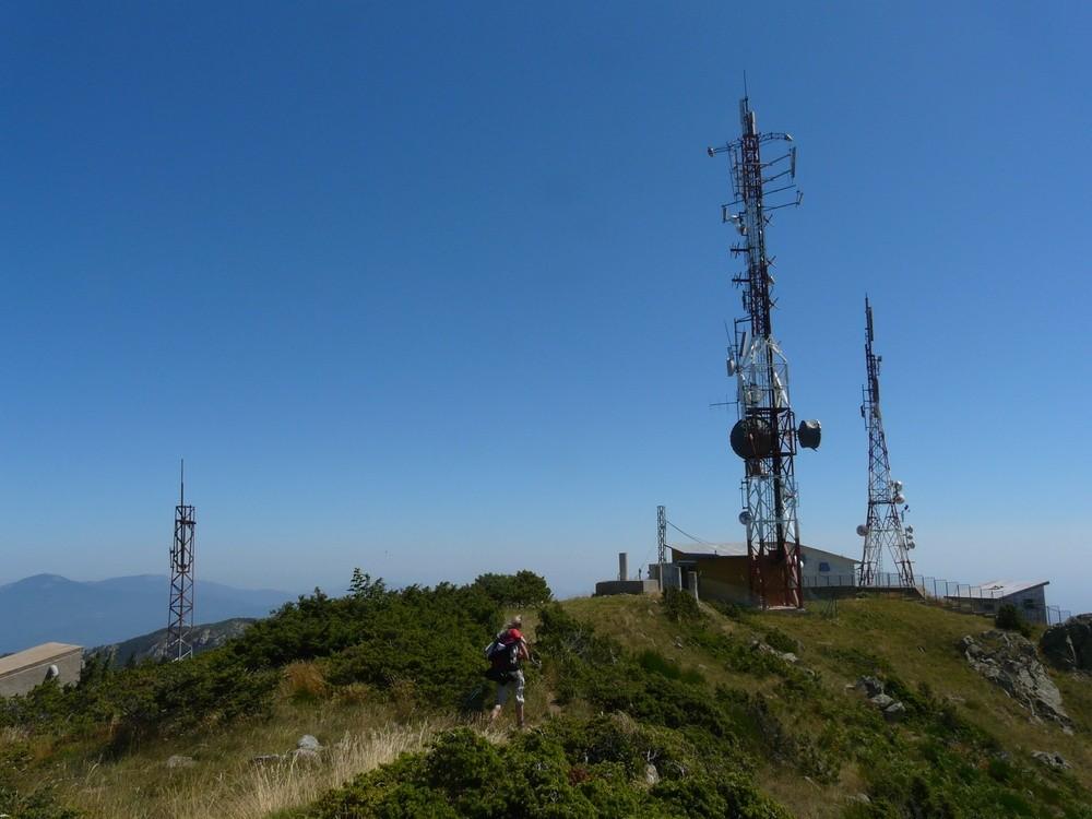 Le pylone TV à côté du Roc de France