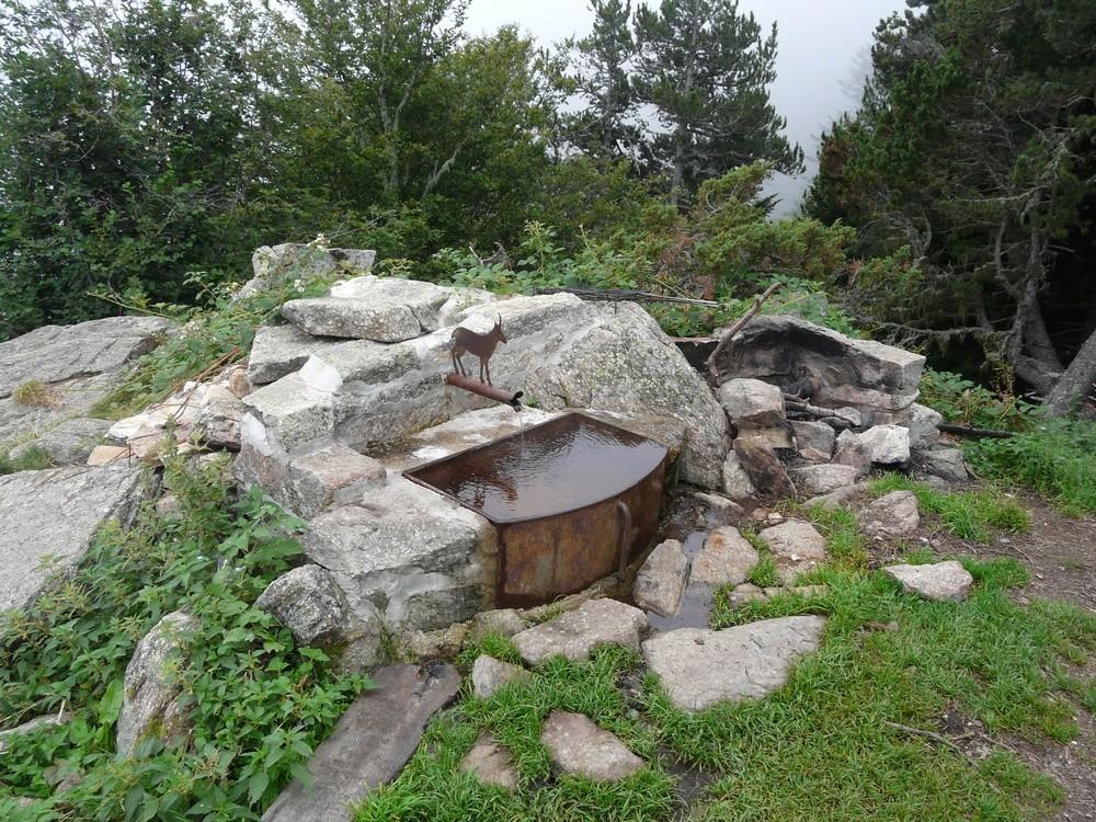 Fontaine de l'abri du Pinatell