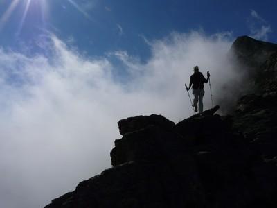 Pic du Canigou - descente de la crête N