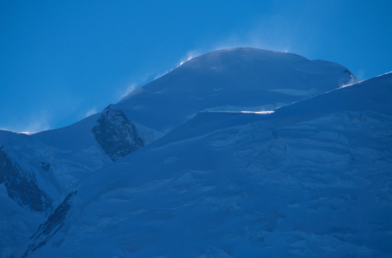 Mont Blanc. 12/2004