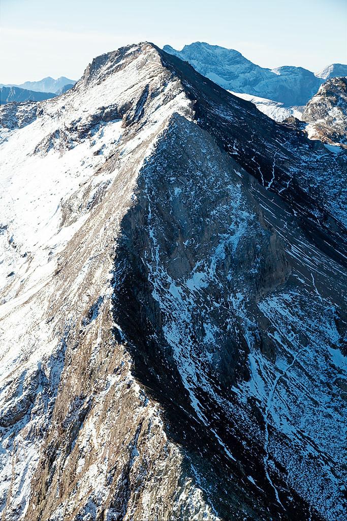 Pic d'Estaragne crête N depuis Cylindre d'Estaragne