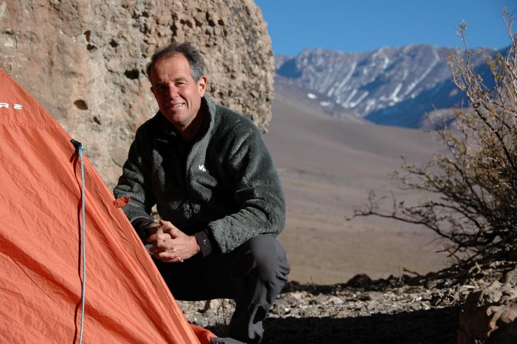 Nuit devant grottes de Morrillos. Avant retour sur Mendoza.