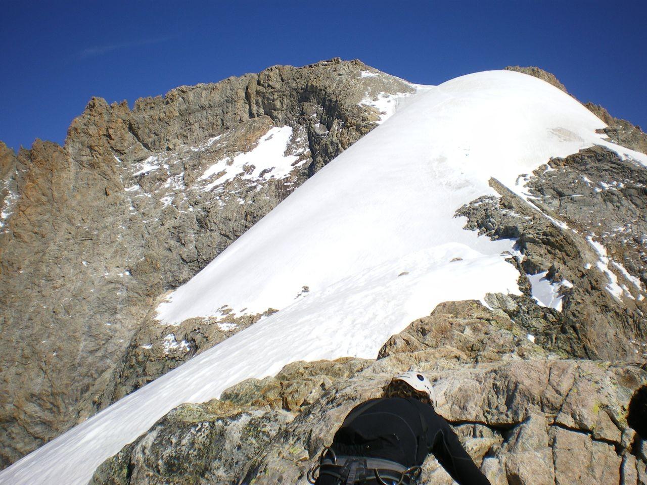 sympa le glacier sommital