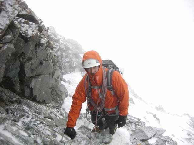 Au dessus de  4000m les conditions sont peu encourageantes