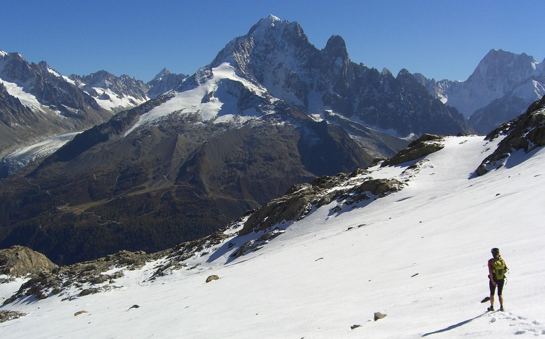 Aig Belvedere-Glacier du Dard
