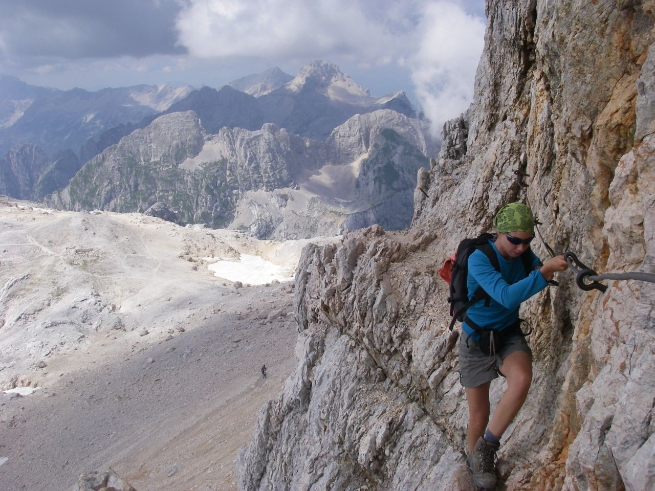 Triglav - Summit - Fixed ropes