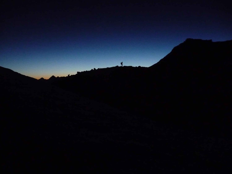 Lever de soleil au Bishorn