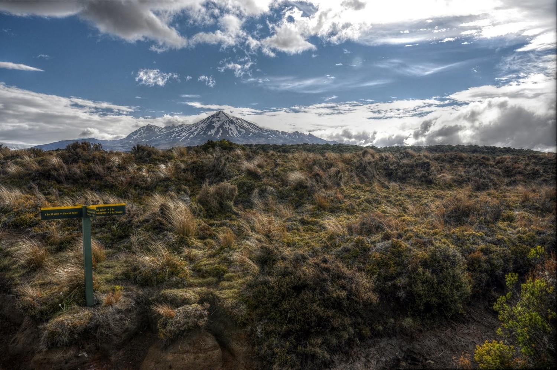 Ruapehu - Parc Tongariro Nouvelle Zélande