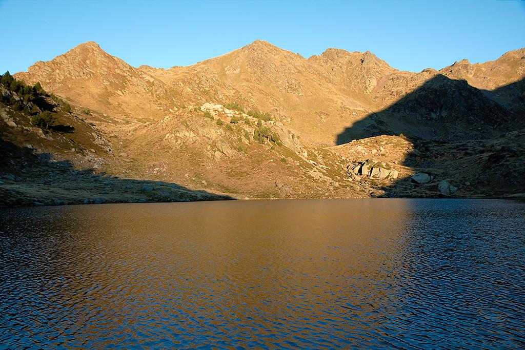 Pointe de Peyreguils, estany Primer de Tristaina